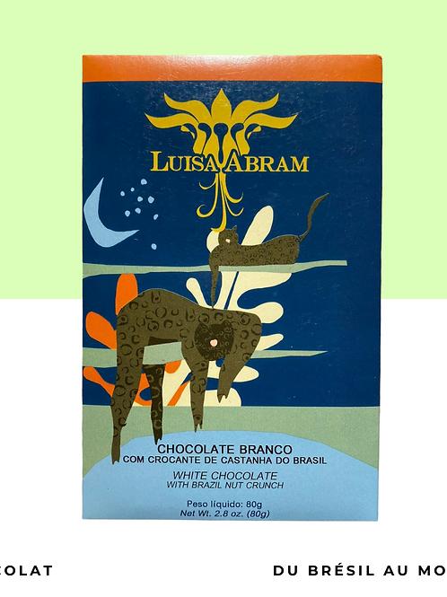 Chocolat blanc avec noix du brésil • Rio Acará • 80g
