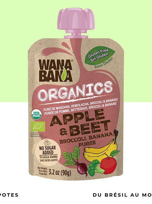 Purée Pomme Beterrave BIO • naturelle, sans conservateur et sans sucre