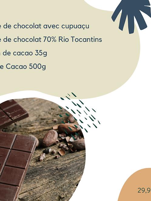 Box Instants de Bonheur • découvrez le bonheur du cacao en différentes formes