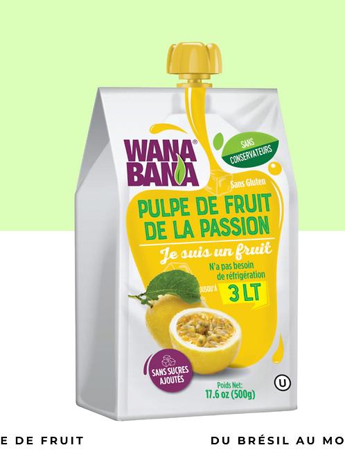 Pulpe fruit de la passion non réfrigérée • pure, sans conservateur et sans sucre