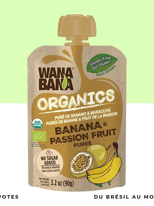 Purée de Passion Banane BIO •naturelle, sans conservateur et sans sucre