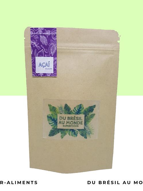 Açaí bio en poudre • La célébre baierempli d'antioxydant, fér et oméga