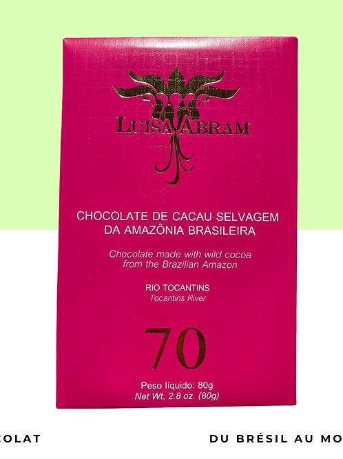 Chocolat 70% Cacao Sauvage • Rio Tocantins • 80g
