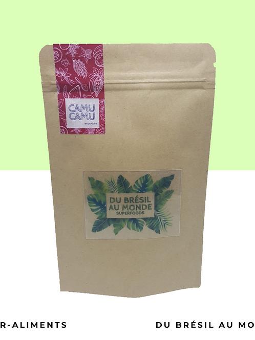 Camu-Camu bio en poudre • Le Roi de la vitamine C, antioxydant et minéraux