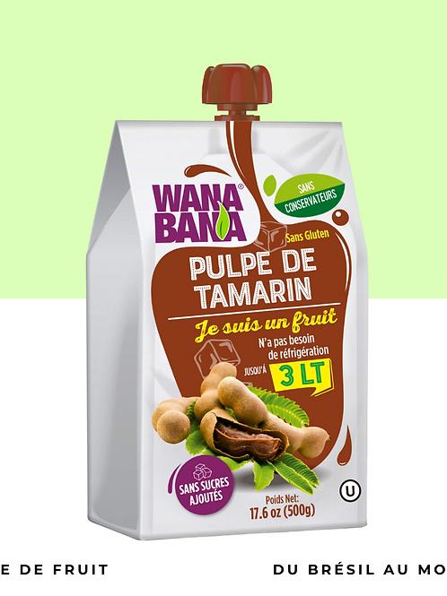 Pulpe de Tamarin non réfrigérée • pure, sans conservateur et sans sucre