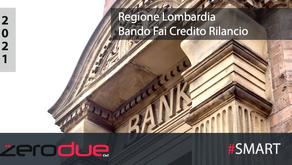 REGIONE LOMBARDIA - FAI CREDITO RILANCIO