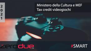 TAX CREDIT VIDEOGIOCHI