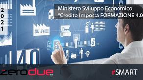 CREDITO D'IMPOSTA FORMAZIONE 4.0