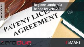 REGIONE LOMBARDIA - BANDO BREVETTI 2021