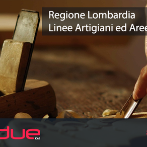 REGIONE LOMBARDIA - INVESTIMENTI PER LA RIPRESA DI ARTIGIANI ED AREE INTERNE