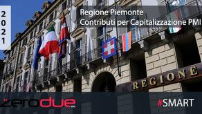 REGIONE PIEMONTE - CONTRIBUTI A SOSTEGNO DELLA CAPITALIZZAZIONE DELLE PMI PER EMERGENZA COVID-19