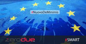 """NUOVO REGIME """"DE MINIMIS"""""""