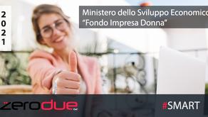 FONDO IMPRESA DONNA - NOVITA' SULL'IMPRENDITORIA FEMMINILE