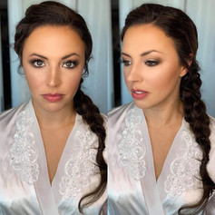 Danielle was bridal perfection 🙌🏼✨ Mak