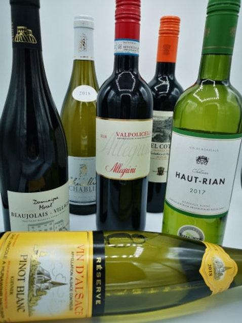 Classic 6 wine case.