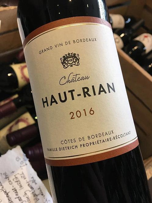 2016 Chateau Haut Rian Rouge