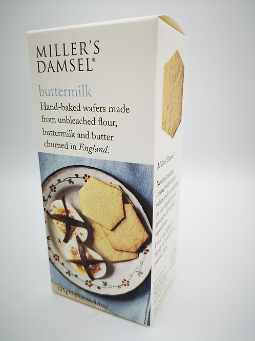 Miller's Damsel buttermilk wafers.