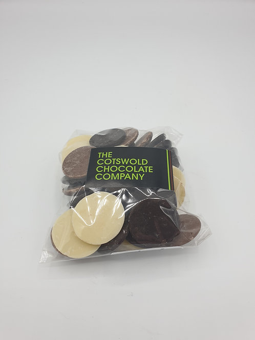 Chocolate Buttons.