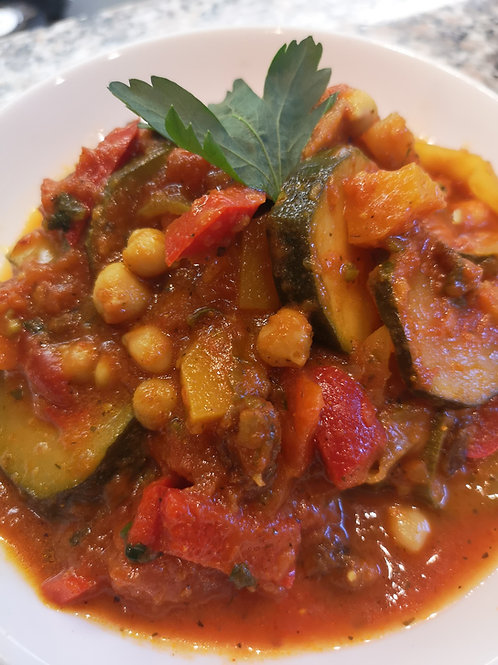 Vegetable Tagine - (vegetarian)