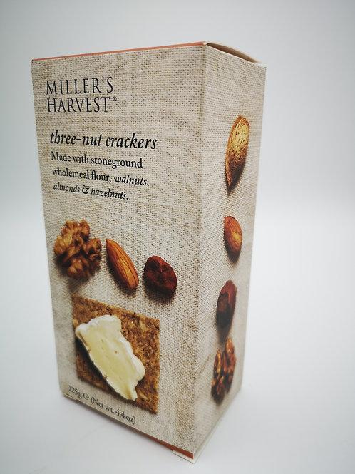 Miller's Harvest three-nut crackers