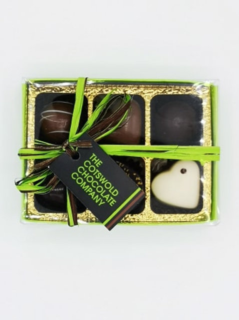The Cotswold Chocolate Company 6 box.