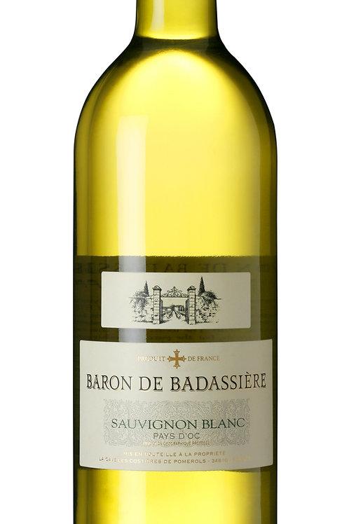 2019 Baron de Badassière, Sauvignon Blanc IGP Côtes de Thau
