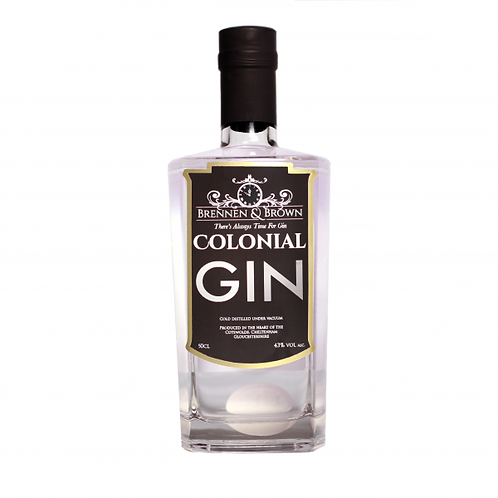 Brennen and Brown Colonial Gin