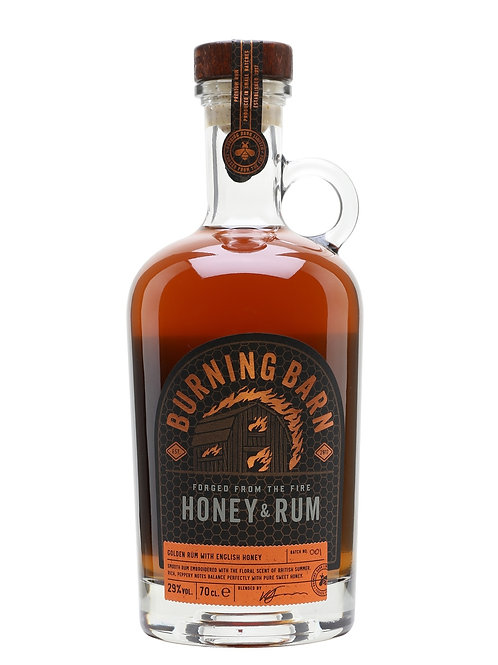 Burning Barn Honey and Rum Liqueur