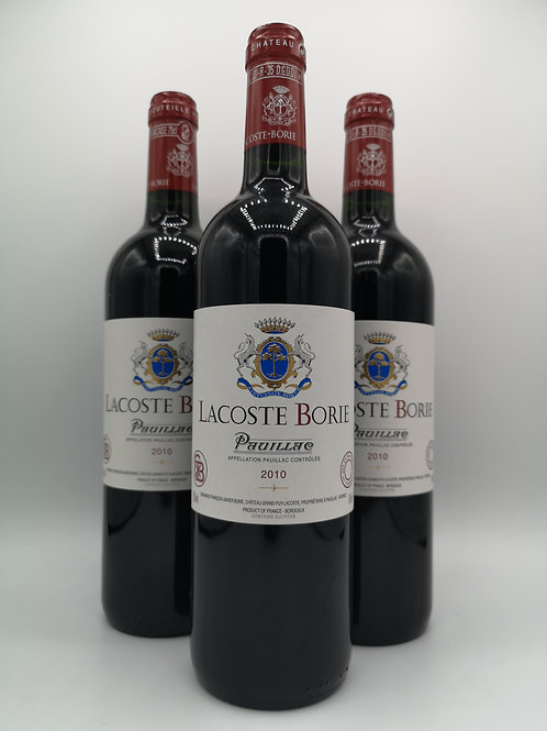2010 Lacoste Borie Pauillac