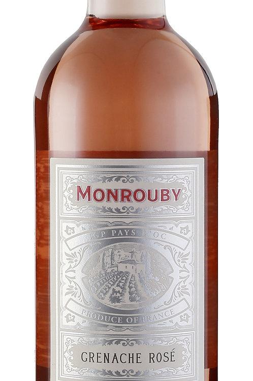 2018 Monrouby, Grenache Rosé IGP Pays d'Oc