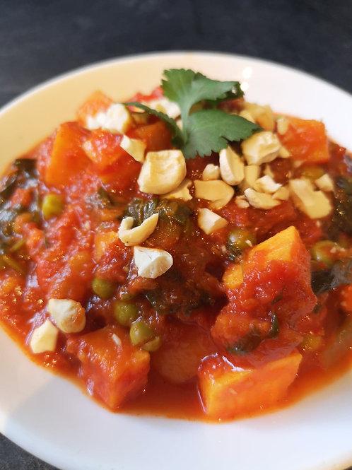 Vegetable Madras (vegan)