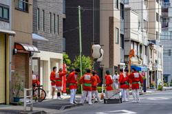 夏の例大祭「築地獅子祭」