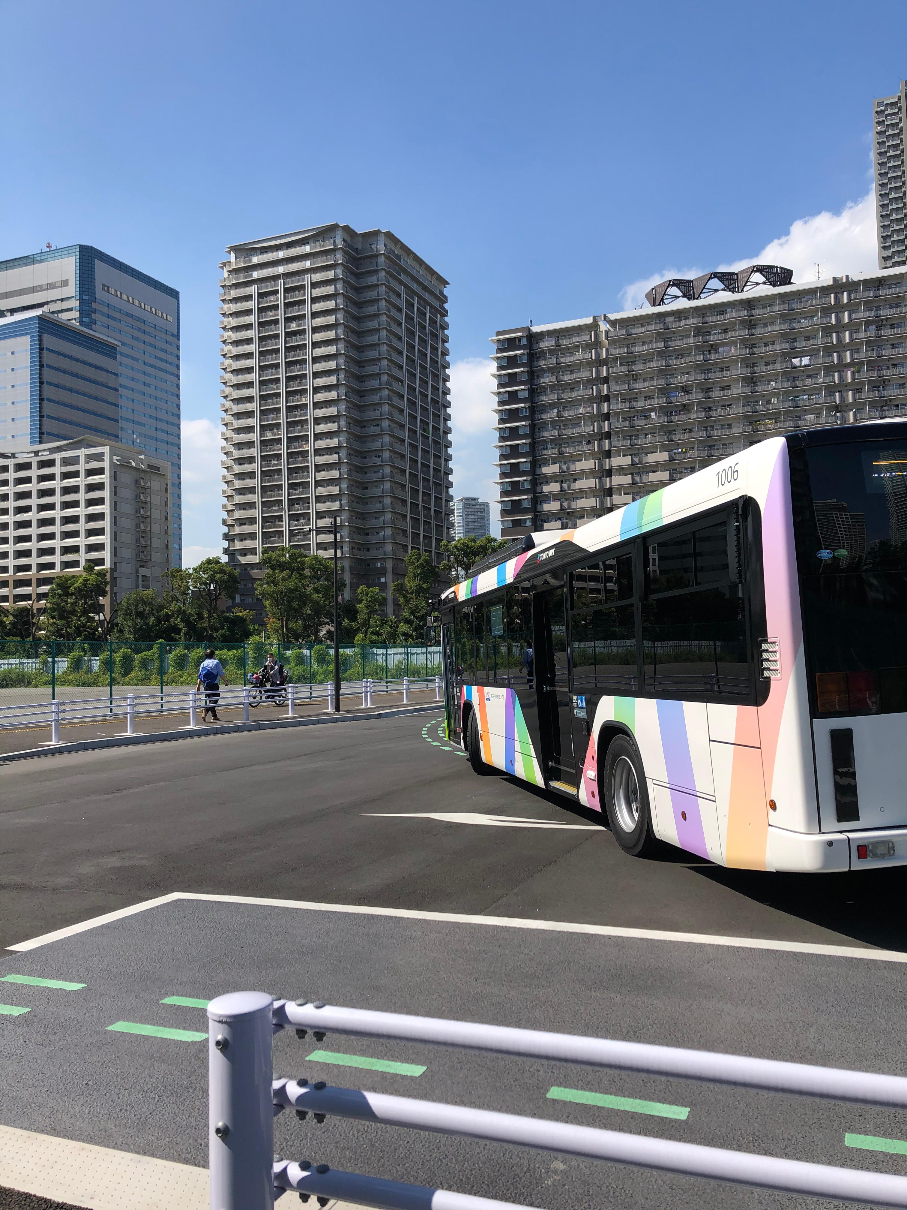 BRT、晴海駐機場に帰還