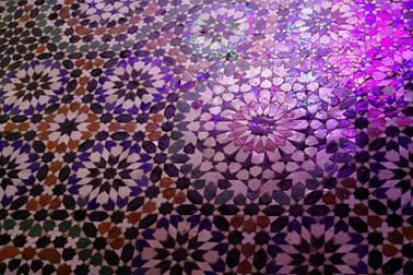 マラケシュバヒア宮殿floor