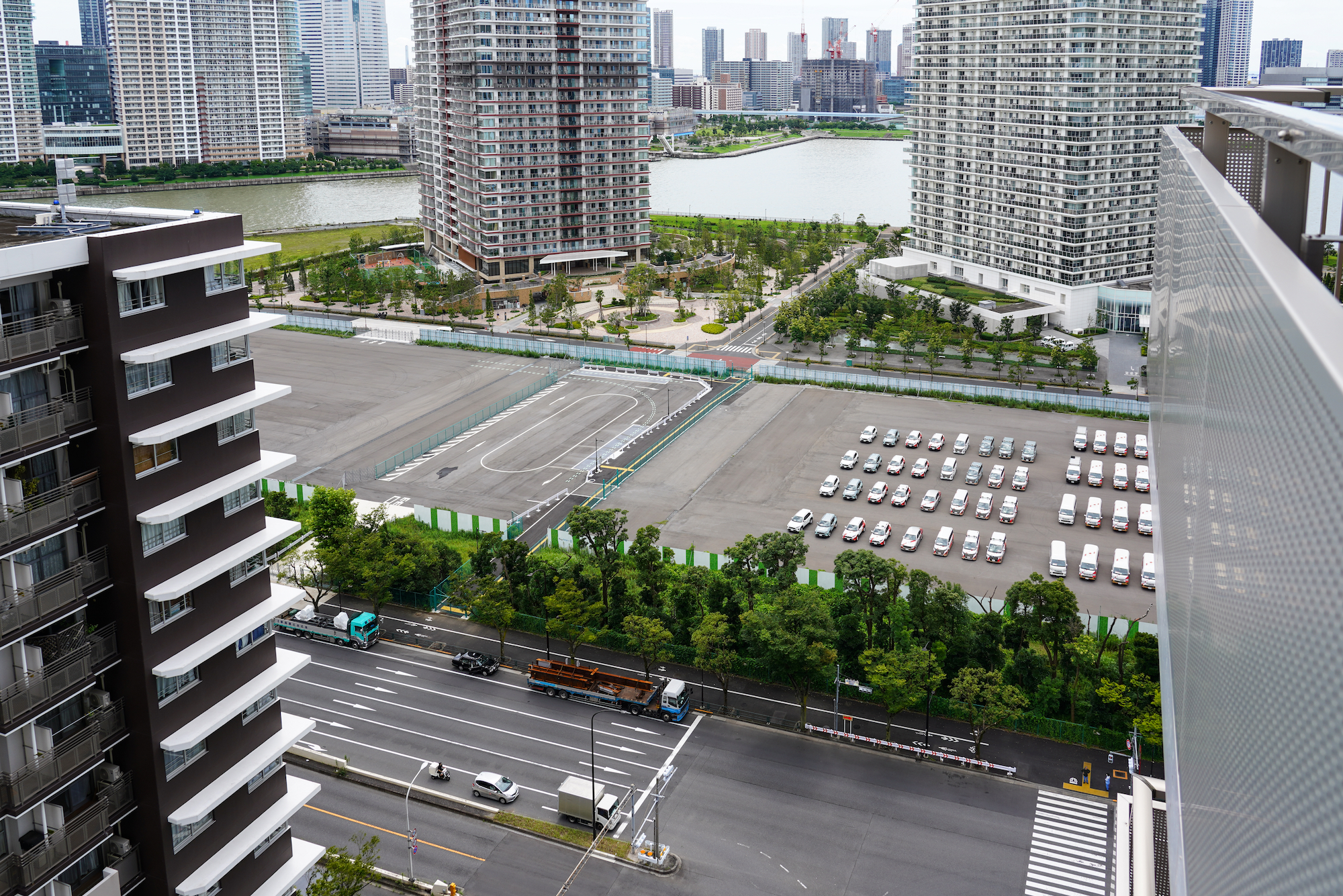 東京BRT駐機場