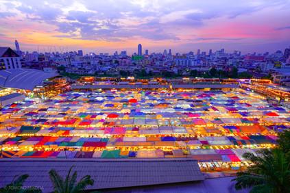 バンコク 鉄道市場