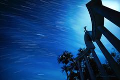 宮古島 星の軌跡