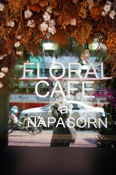 バンコク カフェ併設花屋