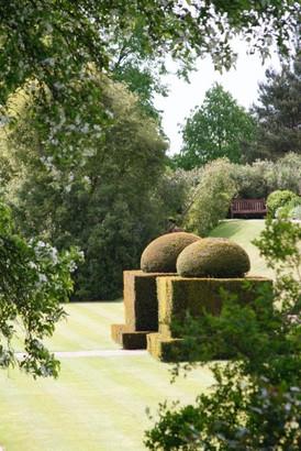 Engelsk parkträdgård