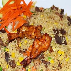 Combination Fried Rice Dish