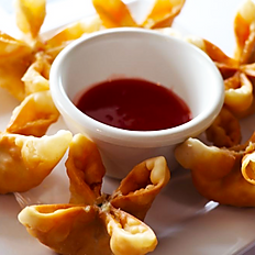 Fried Crab Cheese Wontons
