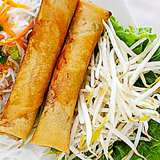Fried Pork or Vegetarian Egg Rolls