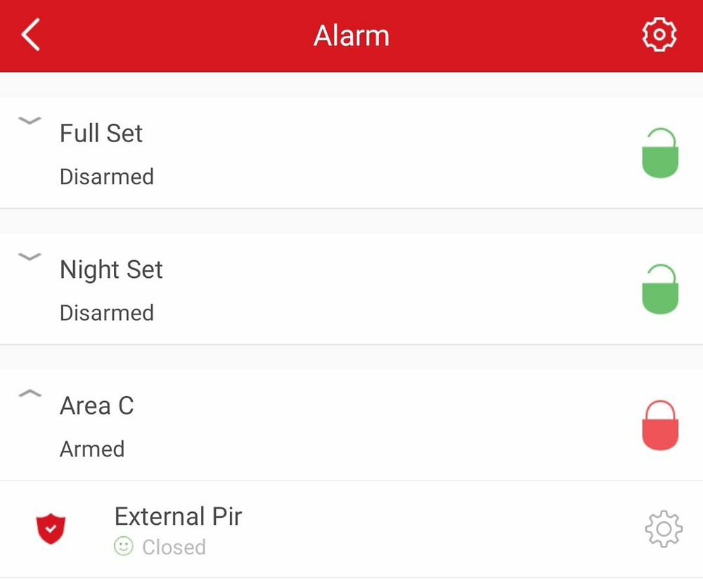 Smartphone Alarm System App