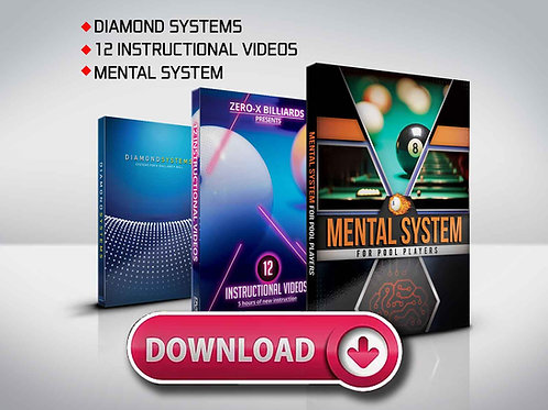Digital Downloads - Diamond System, Mental System, 12 Instructional Videos