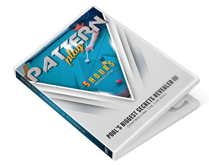Pool Instruction - Pattern Play DVD, pool lessons