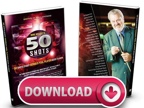 Mike Massey's '50 Shots' - Digital Downloads
