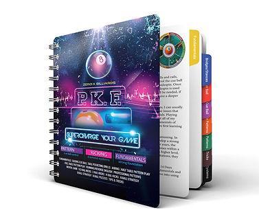 pool book, pool instruction book,pool instruction
