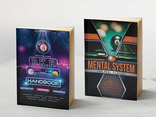 PKF Handbook + Mental System for Pool Players Book