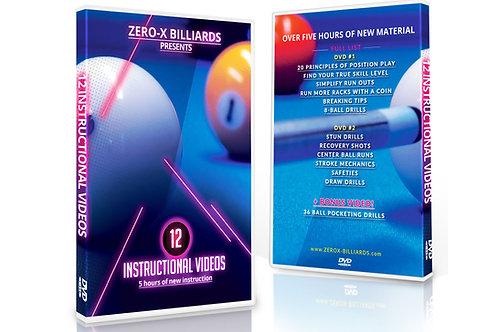 12 Instructional Videos - 2 DVD Set