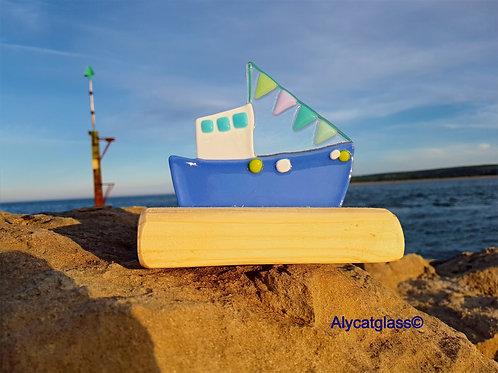 Cobalt Fishing Boat